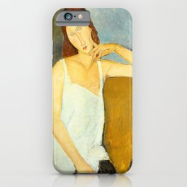 Amedeo Modigliani - Jeanne Hébuterne iPhone Case