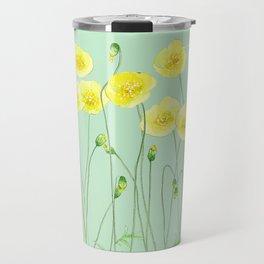 Yellow Wildflowers II Travel Mug