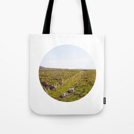 Sheeps in Iceland Tote Bag