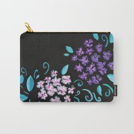 Floral Bunches Carry-All Pouch