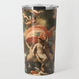 The Birth of Venus by Nicolas Poussin (1635) Travel Mug