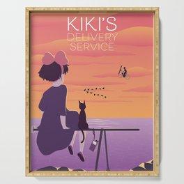 Kiki's Delivery Service - Alternative Movie Poster Serving Tray