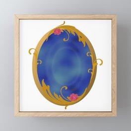 magic mirror, fantasy Framed Mini Art Print