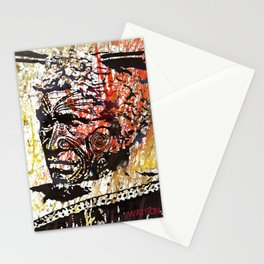 Maori Warrior 1 Stationery Cards
