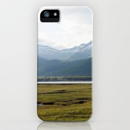 Misty Mountain Sunset Photography Print iPhone Case