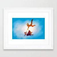 bioshock Framed Art Prints featuring Bioshock Infinite by anansass