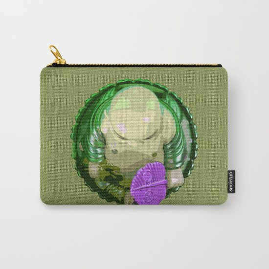 buddha [green] Carry-All Pouch