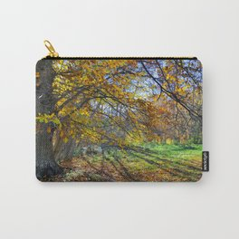 multicolored autumn Carry-All Pouch