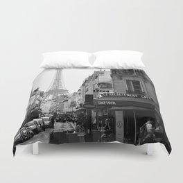 Paris Street Duvet Cover