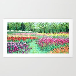 May at the Carillon Art Print