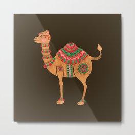 The Ethnic Camel Metal Print