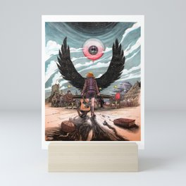 Night Wings Rising Mini Art Print