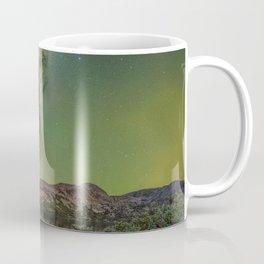 Milky waway over loch lomond Coffee Mug