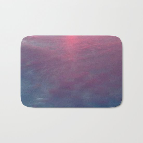 Sky and Water Bath Mat