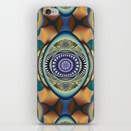 Fall inspired abstract iPhone Skin