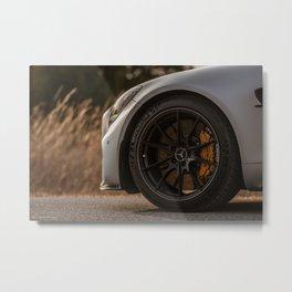 AMG GTR Metal Print