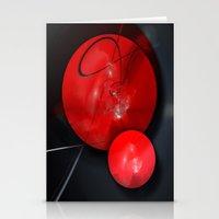 gym Stationery Cards featuring Gym Balls by Digital-Art