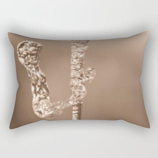 Water Art - 4 Rectangular Pillow