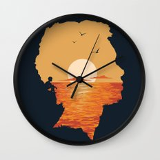 Caved In Wall Clock