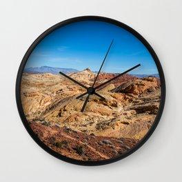 Barren Desert Wall Clock