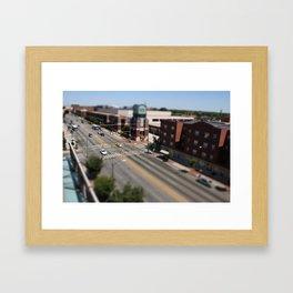 Richmond - Tilt Shift 2 Framed Art Print