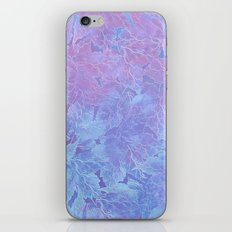 Frozen Leaves 3 iPhone & iPod Skin