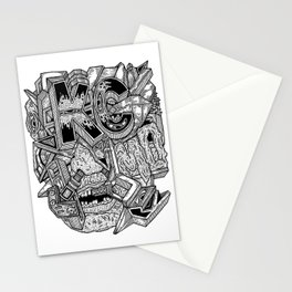Geometric Mutations: Kansas City, MO Stationery Cards