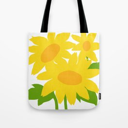 Yellow Green Good Cheer Tote Bag