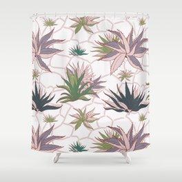 Agave Flower Shower Curtain