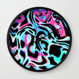 Marbled XXIII Wall Clock
