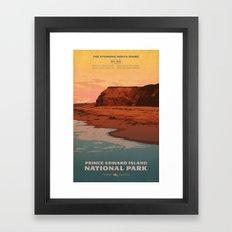 Prince Edward Island National Park Framed Art Print