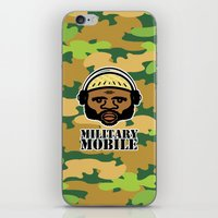 military iPhone & iPod Skins featuring Military Mobile by DUBLIC