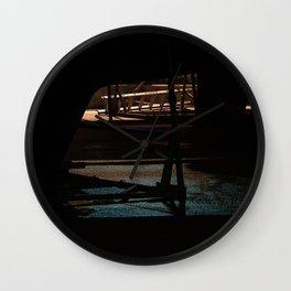 Night bow Wall Clock