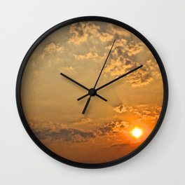 Sunset in the Clouds - The Peace Collection Wall Clock