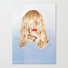 Red Lips XI Canvas Print