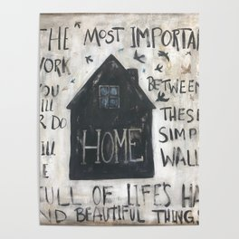 Home between these walls Poster