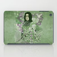 snape iPad Cases featuring Portrait of a Potions Master by Karen Hallion Illustrations