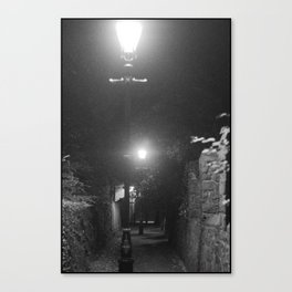 Midnight Expeditions 2 The Alley Canvas Print