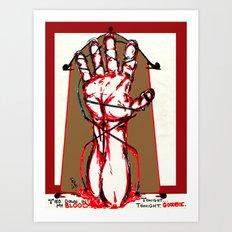 Bound By Blood Art Print