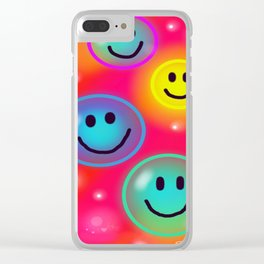 Smile! Clear iPhone Case