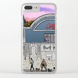 London Cinema Clear iPhone Case
