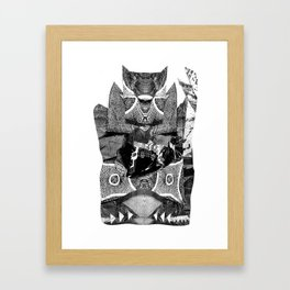 Tragic the Gathering Framed Art Print