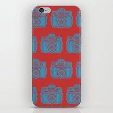 I Still Shoot Film Holga Logo - Red & Blue iPhone Skin