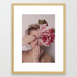 beauty of rose Framed Art Print