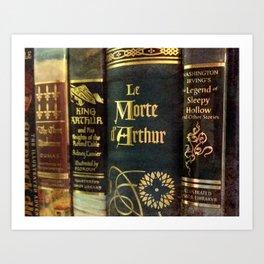 Adventure Library Art Print