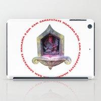 ganesha iPad Cases featuring Ganesha by Janet Carpenter