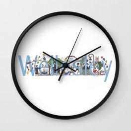 Wellesley College by Stephanie Hessler '84 Wall Clock