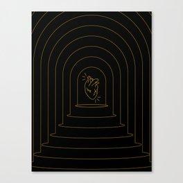 Mystic Heart Canvas Print