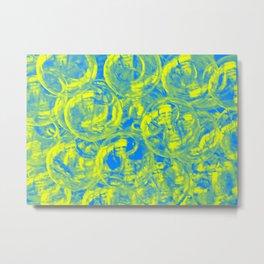 Abstract glass balls Metal Print