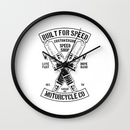 build for speed Wall Clock